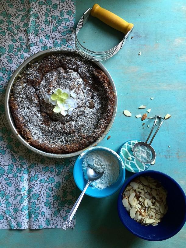 Icelandic Blue Lagoon Cake