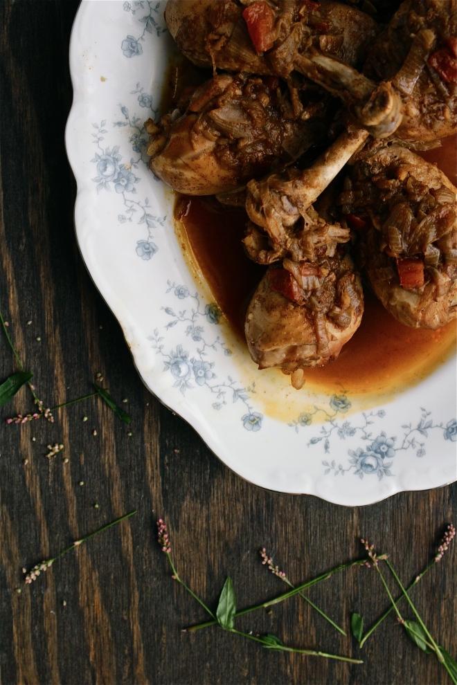Doro Wot (Ethiopian Chicken Stew)