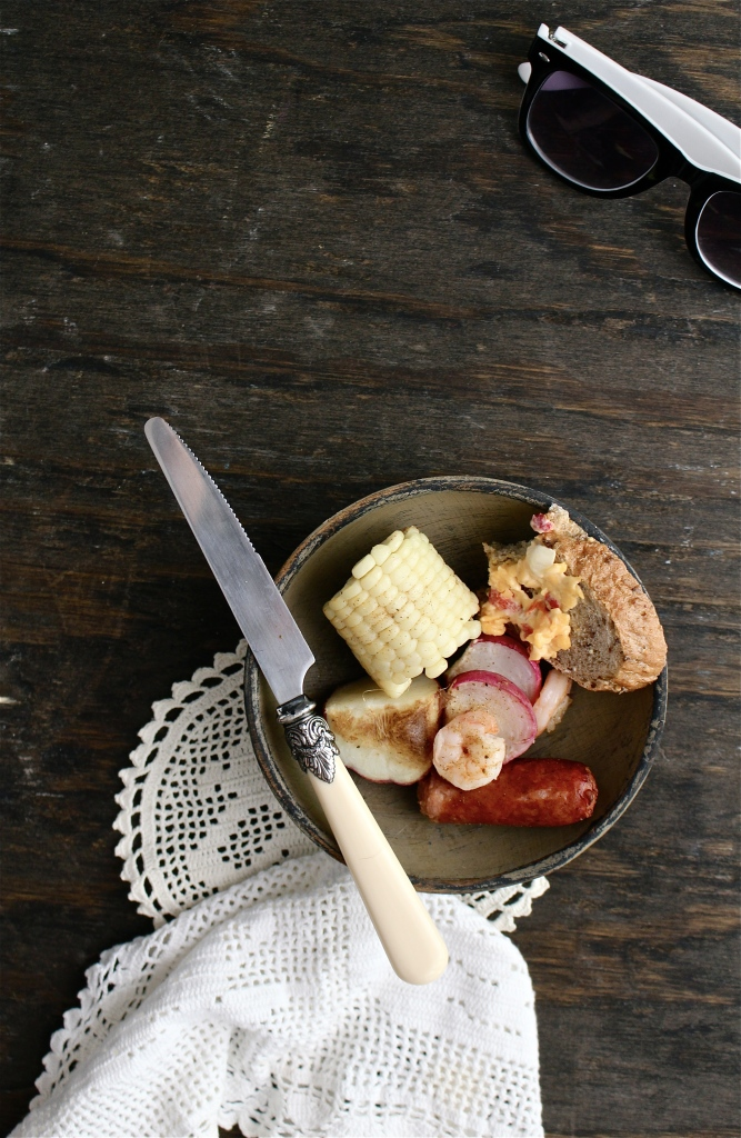 Low Country Style Shrimp and Sausage Broil