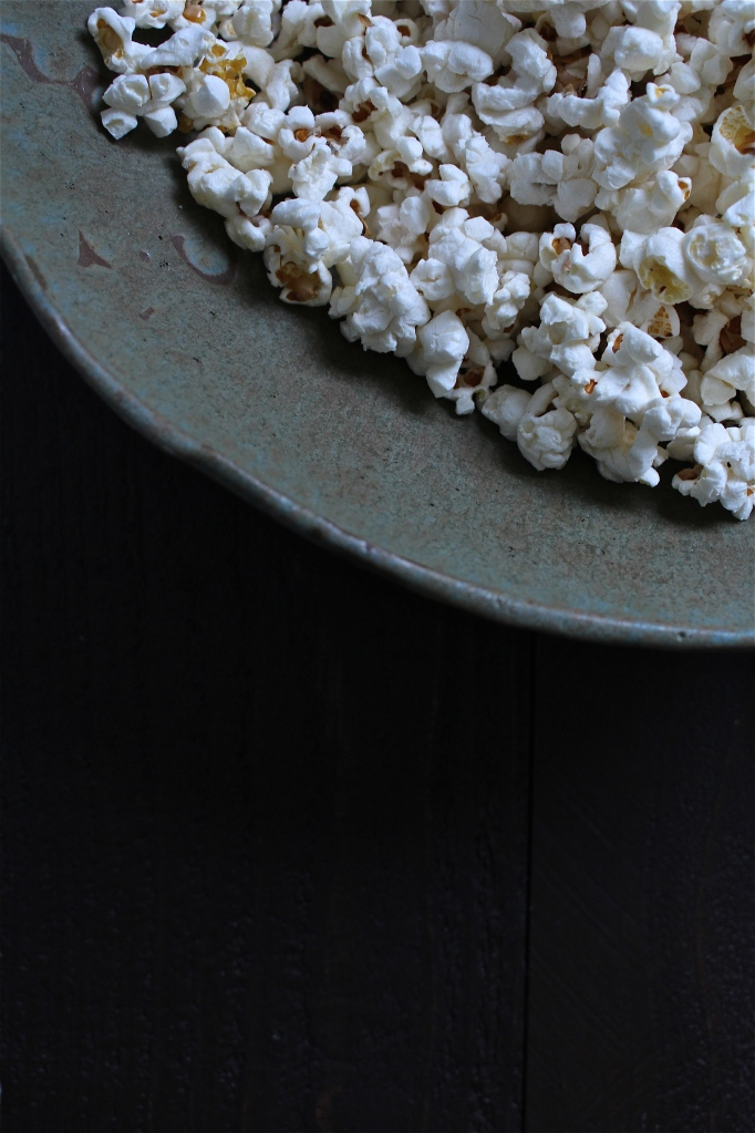 Smoky Browned Butter & Manchego Popcorn