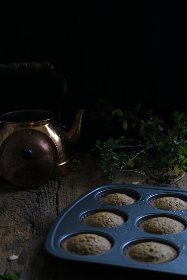 Chestnut and White Chocolate Babycakes