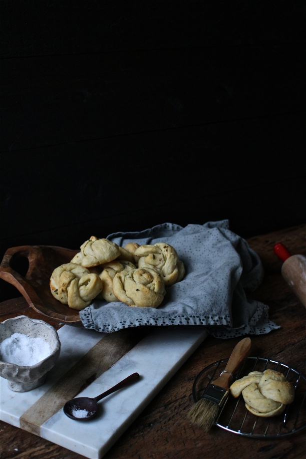 Rosemary & Parmesan Garlic Knots