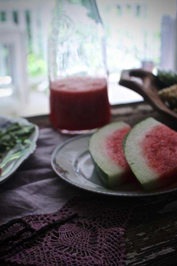 Fresh Watermelon & Vanilla Bean Juice