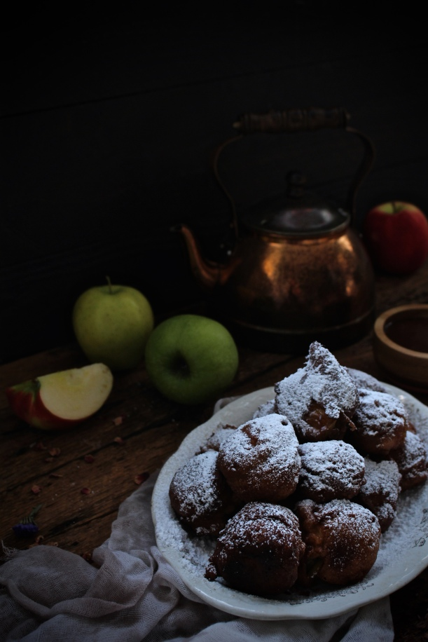Apple & Cardamom Fritters