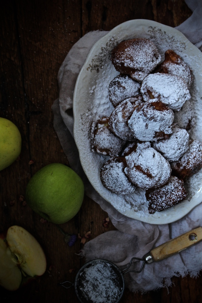 Apple & Cardamom Fritters