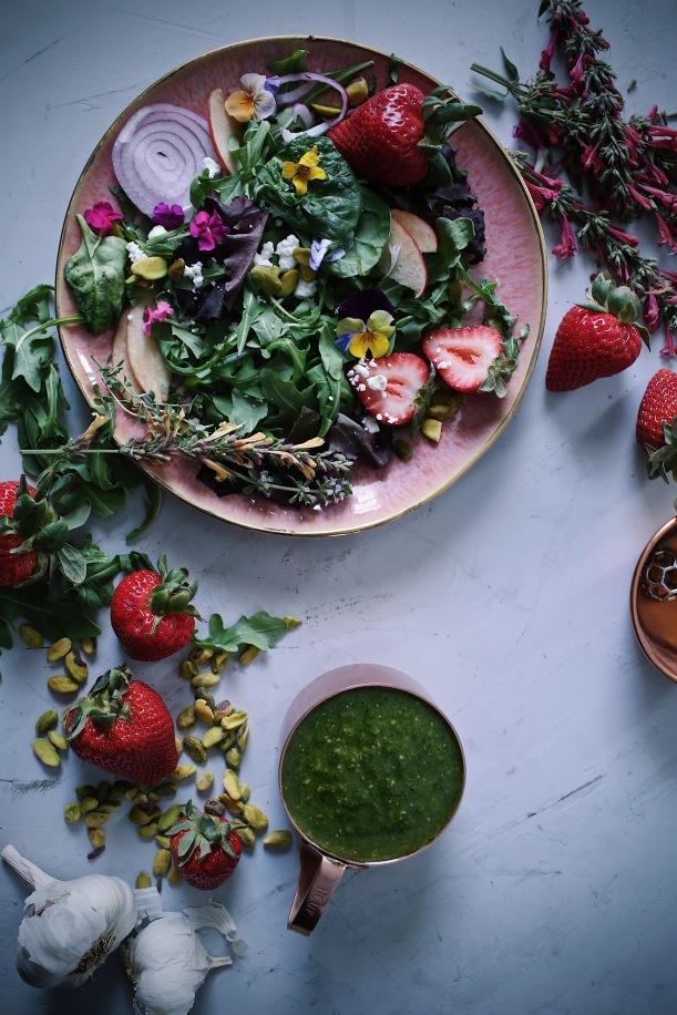 Edible flower inspiration